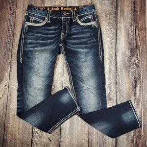 Rock Revival Mel skinny ankle 29 jeans